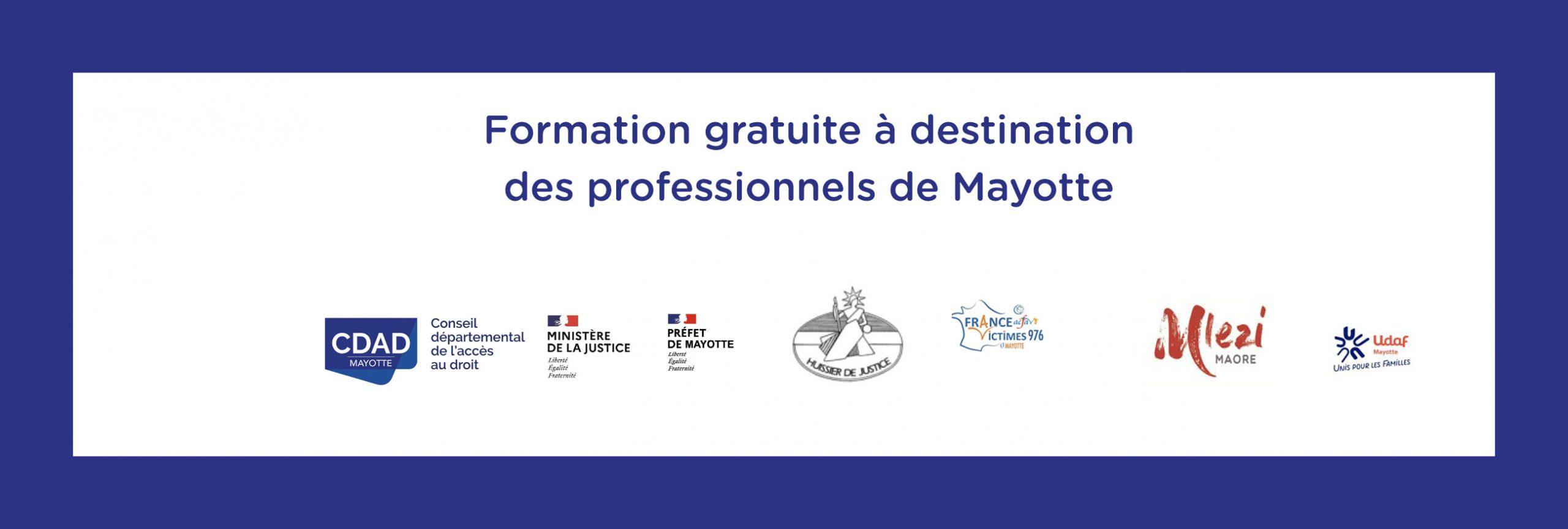 Formation gratuite le 29 septembre 2020 sur la séparation du couple à destination des professionnels de Mayotte