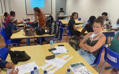 Bilan sessions de formation d'une journée à la médiation à l'occasion de l'exposition  «l'égalité filles-garçons, c'est bon pour les droits de l'enfant. Et le respect aussi»