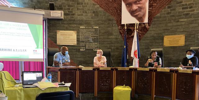 24 octobre 2020 à l'hémicycle du Conseil Départemental de Mayotte